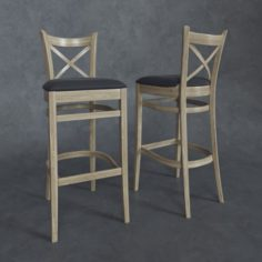Chair Toscana Free 3D Model