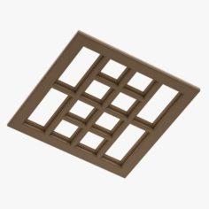 Ceiling Floor 02 3D Model