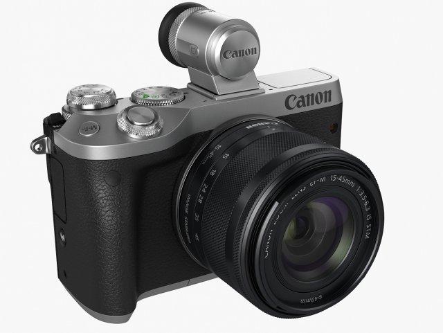 Canon EOS M6 3D Model
