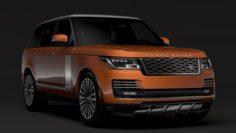 Range Rover Autobiography P400e L405 2018 3D Model