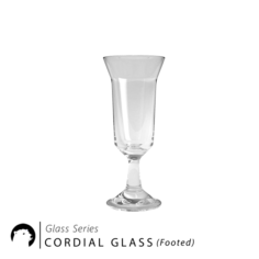 Glass Series – Cordial Glass Footed 3D Model