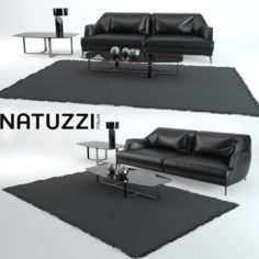 Don Giovanni Sofa NATUZZI 3D Model