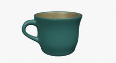 Green cup 3D Model