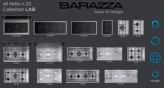 Hob by Barazza LAB Collection 3D Model
