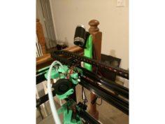 Webcam mount for 2020 rail. 3D Print Model