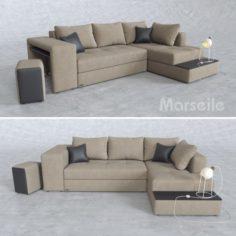 Sofa Marseile 3D Model