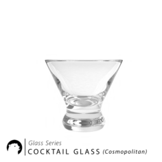 Glass Series – Cocktail Glass cosmopolitan 3D Model