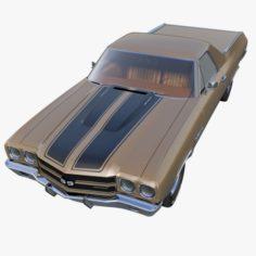 Chevrolet El Camino 3D Model