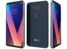 LG V30 Moroccan Blue 3D Model