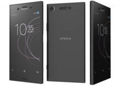 Sony Xperia XZ1 Black 3D Model