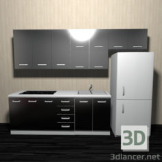 3D-Model  Kitchen