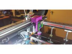 rj45 dual breakout board mount for maker713 light for ft-5 3D Print Model