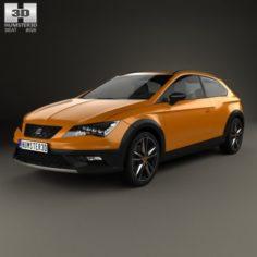 Seat Leon Cross Sport 2015 3D Model