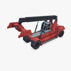 Reach Stacker 3D Model