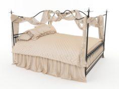 Classic bed 3D Model