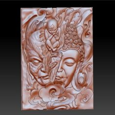 buddha or demon in a moment 3D Print Model