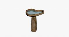Birdbath 3D Model