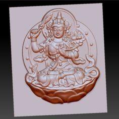 Buddha bodhisattva 3D Print Model