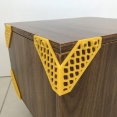 Furniture Cantoneiras Trama Print Mobi 3D Print Model