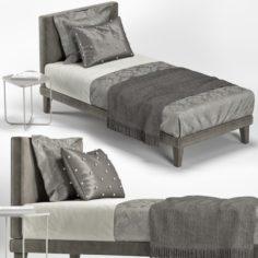 SINGLE BED 06 3D Model