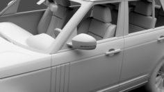 Range Rover Autobiography L405 2018 3D Model