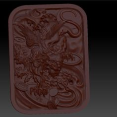 Mythical Wild Animal  Pixiu2 3D Print Model