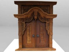 Gebyog Antique furniture 3D Model