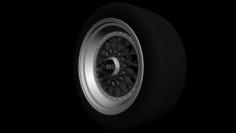 BBS RS Wheel 3D Model