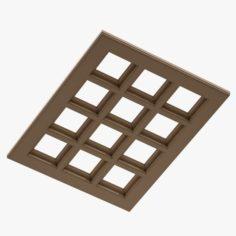 Ceiling Floor 01 3D Model