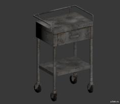 Lab Cart 3D Model