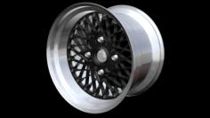 SSR Formula Mesh 4 Lug 3D Model