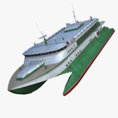 Catamaran 3D Model