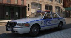 Car Police 3D Model
