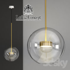 SUSPENTING LAMPS GIOPATO & COOMBES BOLLE BLS MONO LAMP                                      3D Model