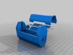 SX350J vape mod with 26650 or 18650 adapter V2. 3D Print Model