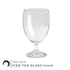 Glass Series – Iced Tea Glass Footed 3D Model
