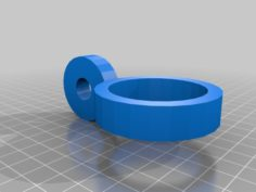 Chemistry Ring stand adapter 3D Print Model