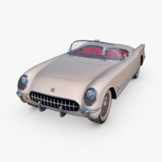 Chevrolet Corvette 1953 3D Model