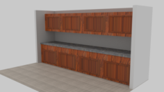 Door and Kitchen Pack 3D Model