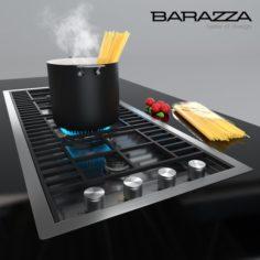 Hob 1PLB3T by Barazza – Spaghetti 3D Model