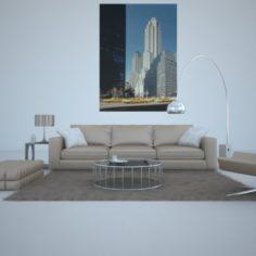 Sofa living 3D Model