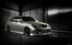 Toyota Verossa x110 3D Model