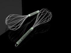 Egg whisk 3D Model