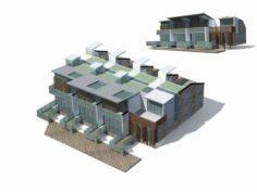 City – Villa 11145 3D Model