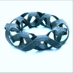 interlaced bangles 3D Print Model