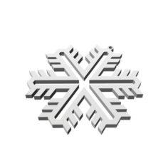 Christmas Snowflake Ornament_1 3D Print Model