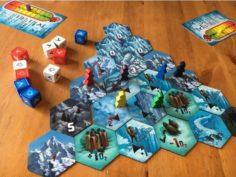 Dicey Peaks Board Game 3D Print Model