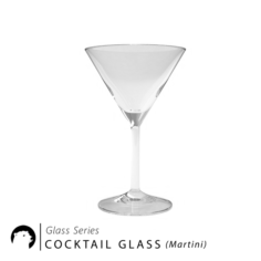 Glass Series – Cocktail Glass Martini 3D Model