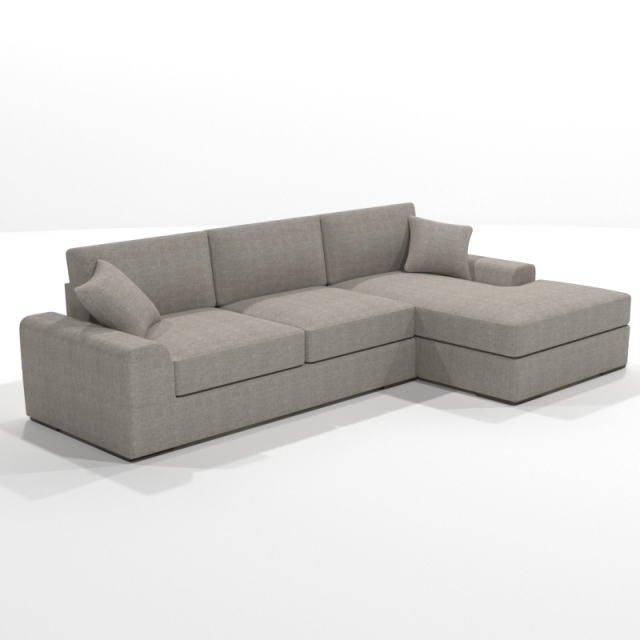 Vedori corner chaise sofa 3d model for Chaise game free download