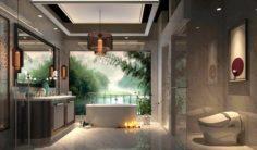 Bathroom design complete model 166 3D Model